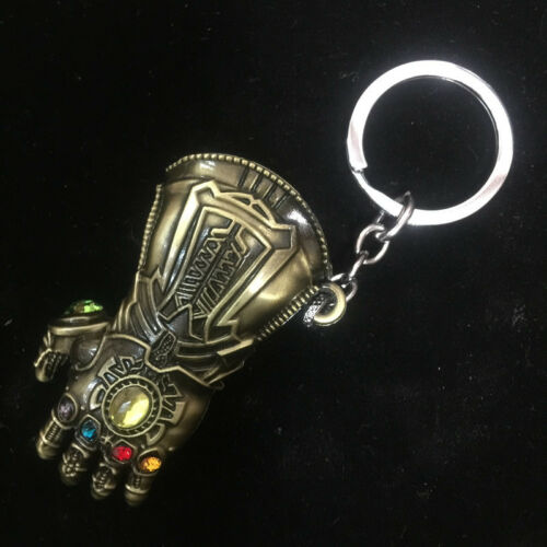 Thanos Keyring Stormbreaker The Avengers 3 Infinity War Gauntlet Glove Keychain