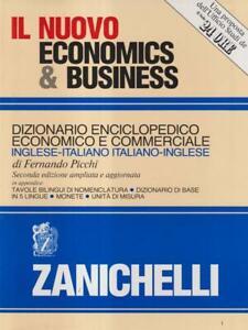IL NUOVO ECONOMICS & BUSINESS - DIZIONARIO ENCICLOPEDICO ECONOMICO