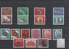 Germany Bund BRD Jahrgang yearset 1967 postfrisch MNH ** komplett complete