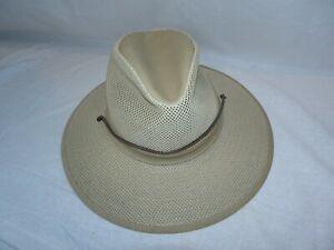 HENSCHEL-HAT-CO-Khaki-Hat-Size-Small-Safari-Bush-Packable