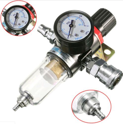 """Druckluft Wasserabscheider 1//2/"""" Druckluft Druckminderer Druckregler Filter SCHN"""