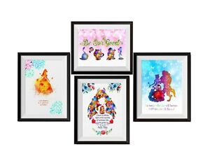 Uhomate Be Our Guest Beauty And The Beast Quotes Print Nursery Wall Decor C021