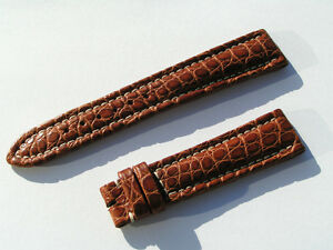 BREITLING-WINGS-CROCO-BAND-STRAP-19-16MM-BRAUN-BROWN-NP-550-00-EURO-19MM-75-115