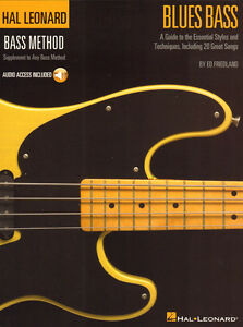 Ed-Friedland-Blues-Bass-Schule-Tab-Noten-mit-Download-Code