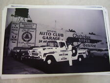1958 Chevrolet Pickup Tow Truck In Front Of Garage 11 X 17 Photo Picture