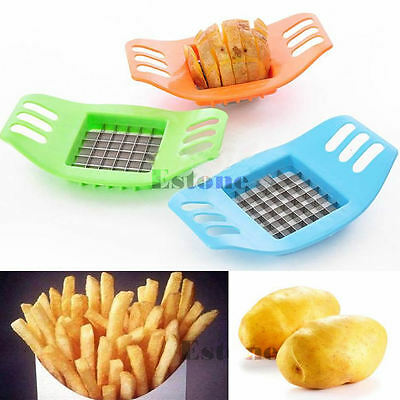 Kitchen Tools Potatoes Cutter Cut into Strips French Fries Gadgets Color Random