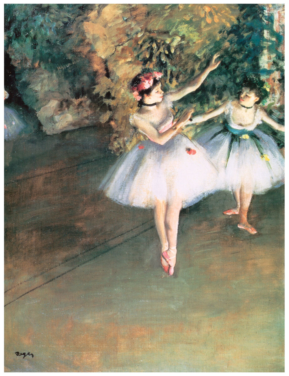 16x20 Decoration CANVAS.Interior room design art.Degas ballerina.Ballet.6387