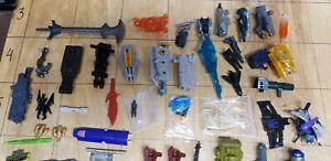 Transformers GiJoe Dino Riders Huge Parts Lot