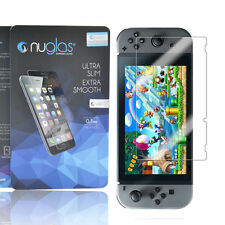 TWIN PACK Genuine Nuglas for NINTENDO SWITCH Tempered Glass Screen Protector