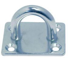Edelstahl Decksplate Augplatte Mastplatte Ösenplatte Wandauge Fenderöse