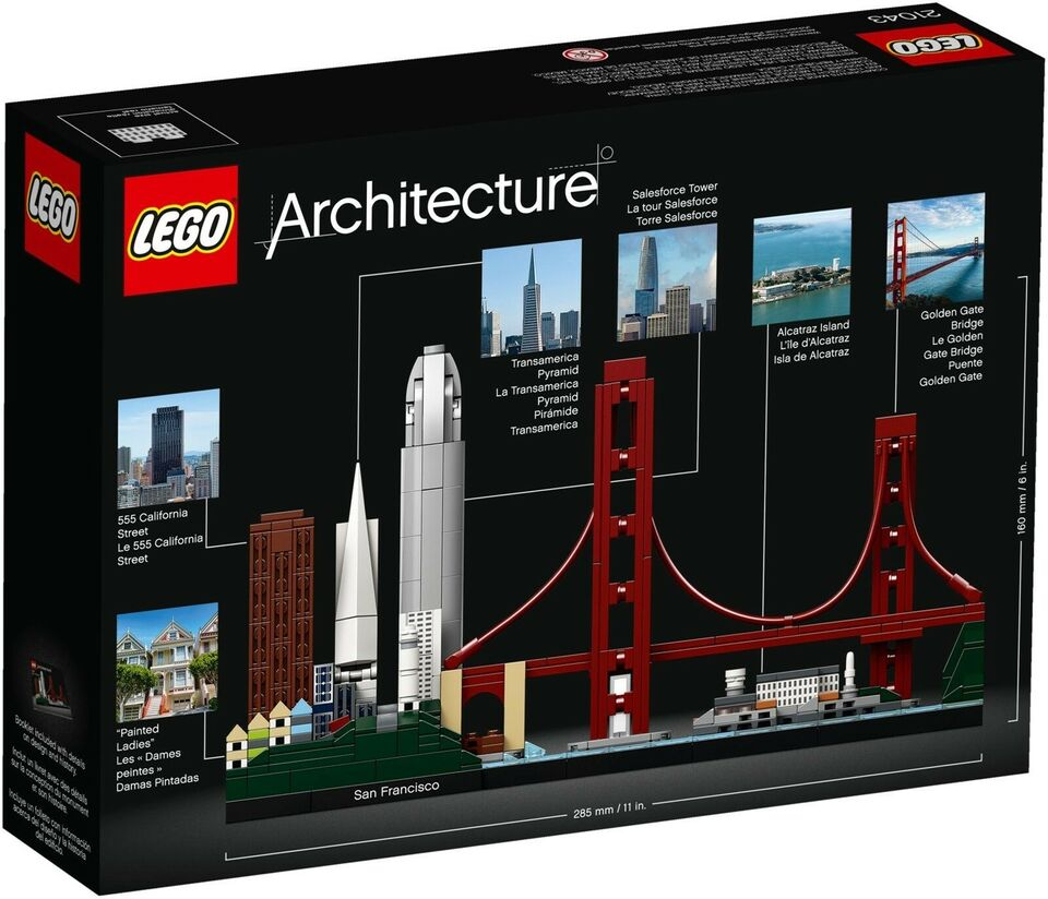 Lego Architecture, 21043 San Francisco Uåbnet