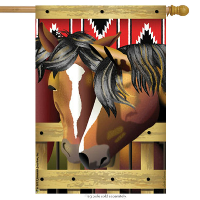 """Stable Mates House Flag Horse Decorative Banner  28/"""" x 40/"""""""