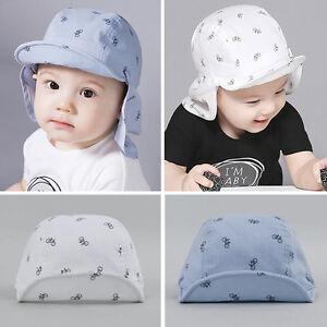 bc40d52b03c Kids Baby Boy Toddler Newborn Sunhat Beret Summer Baseball Hat Cap ...