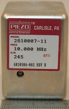 Piezo 2810007 11 Hp 10544a Crystal Oscillator 10 Mhz