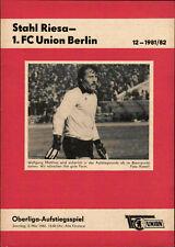 Programm Landesliga Sachsen 2002//03 FC Stahl Riesa 98 VfB Auerbach