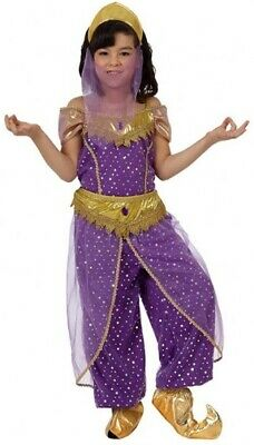 Le Ragazze Viola Arabo Belly Dancer World Film Costume Outfit 3-12 Anni-mostra Il Titolo Originale