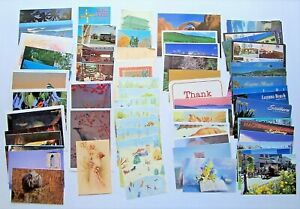 Mixed-Lot-of-80-Vintage-Postcards-Unused