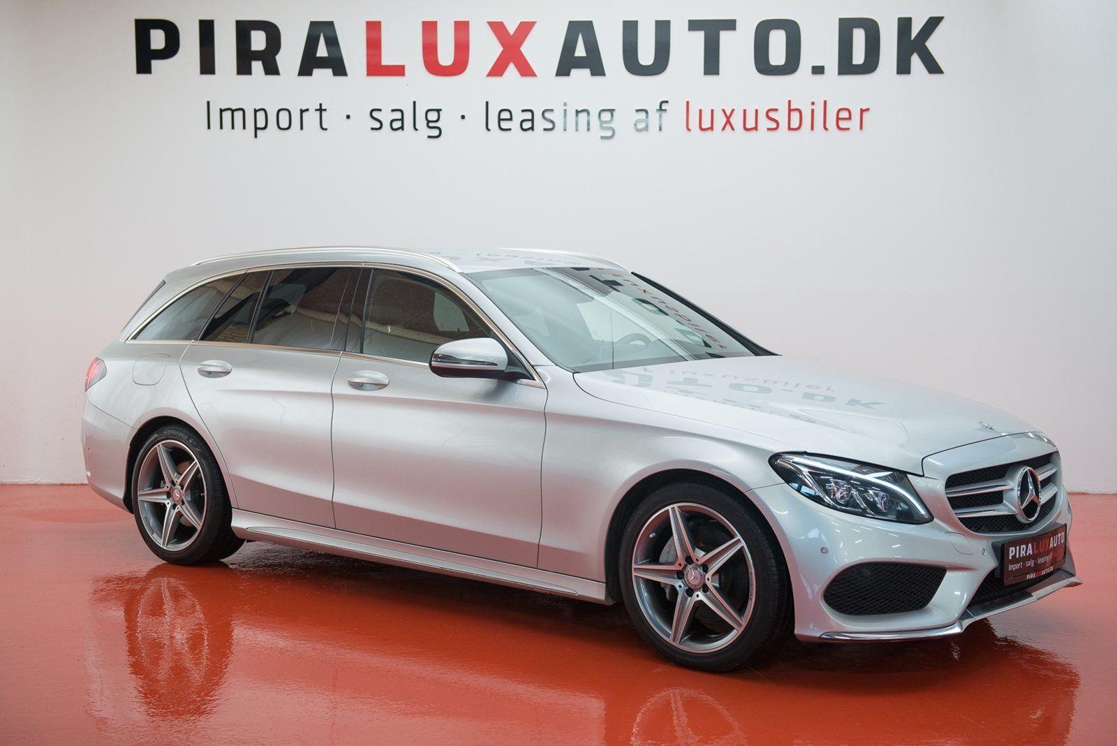 Mercedes C220 2,2 BlueTEC AMG Line stc. aut. 5d - 359.900 kr.