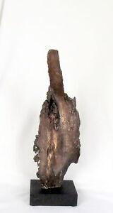 Direct-Bronze-Cast-Driftwood-034-Standing-Tall-034-Sculpture-Original-Unique