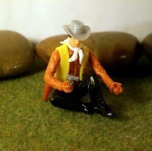 Original-Hausser-Elastolin-5-6cm-Steckfigur-beweglich-schoener-Cowboy-Trapper