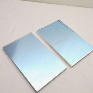 ".625/"" thick CAST Aluminum MIC-6 Alcoa  PLATE 5.375/"" x 13.125/"" QTY 2  sku136666"