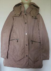 Taille Capuche Fr46 Avec Amovible Réversible Manteau Doudoune Beige Multiples qzpSMUV