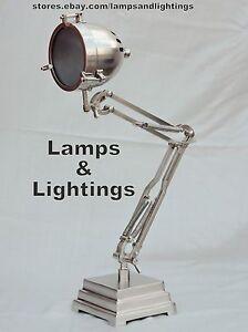 INDUSTRIAL-PEWTER-TABLE-DESK-LAMP-LIGHT-BRASS-PIPE-STEAMPUNK-METAL-MODERN-LAMP