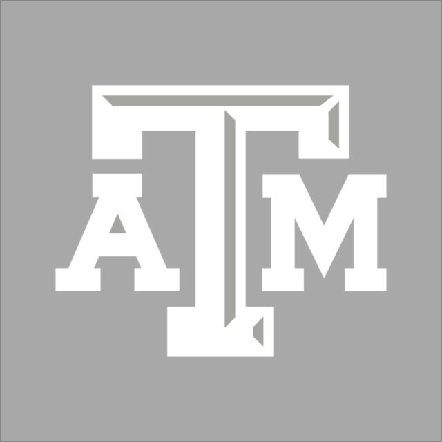 Texas A M Aggies College Logo 1c Vinyl Decal Sticker Car Window Wall