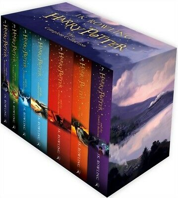 Harry Potter Box Set: The Complete Collection (Children's Paperback) (Paperback)