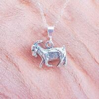 Goat Pendant Charm And Necklace- Free Shipping