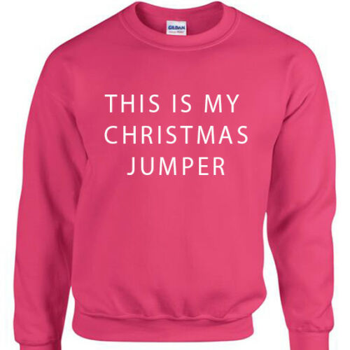 This is my Christmas Jumper Mens funny xmas joke sweatshirt gift