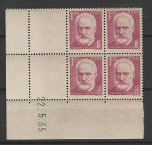 FRANCOBOLLI-1935-FRANCIA-FR-1-25-HUGO-MNH-MLH-E-2287