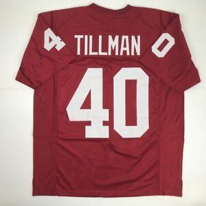 New-PAT-TILLMAN-Arizona-Red-Custom-Stitched-Football-Jersey-Size-Men-039-s-XL