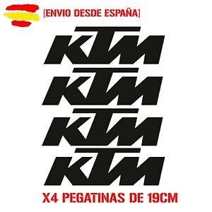 Vinilo-de-corte-pegatinas-X4-logos-ktm-de-19cm-moto-sticker-decal