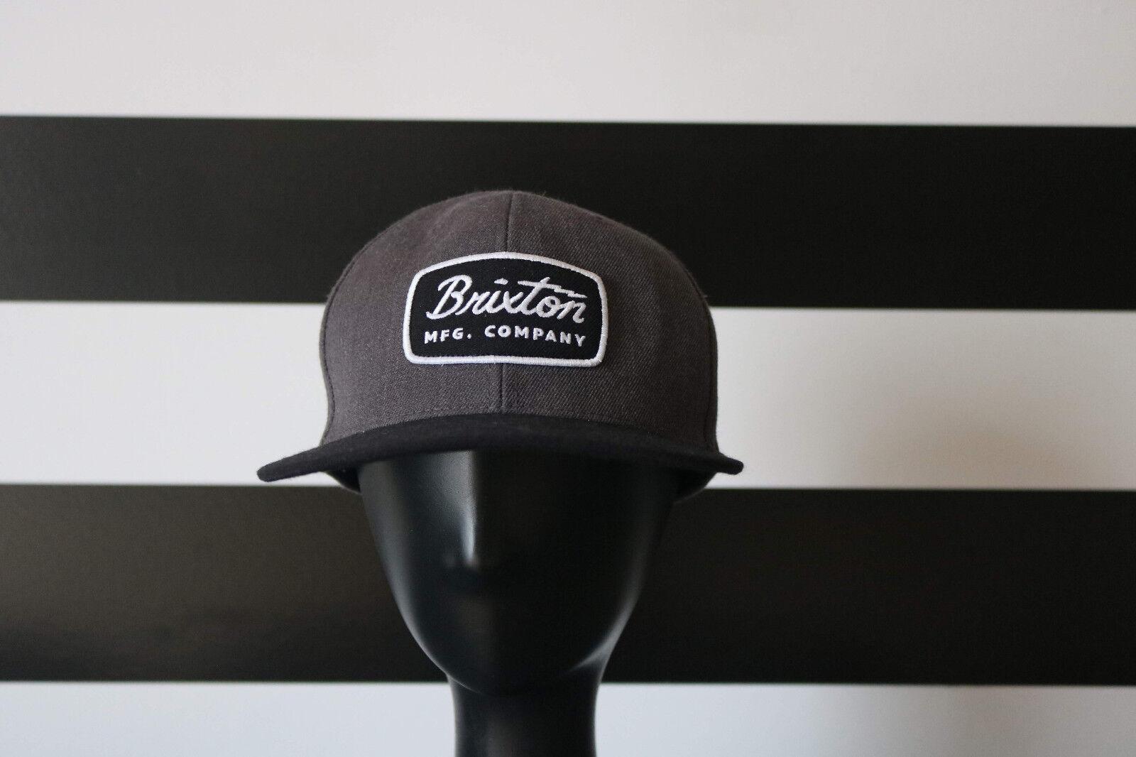 Brixton Snapback Men's Snapback Brixton Hat Gray One Size dd9b45