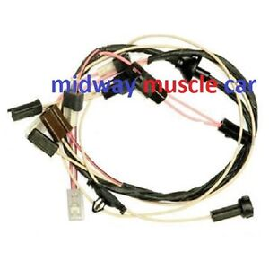 cowl induction wiring harness schematic dodge under hood wiring harness schematic cowl induction hood wiring harness 70 71 72 chevy chevelle malibu el camino | ebay