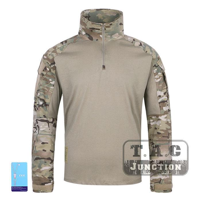 Emerson BDU G3 Combat Shirt  Battlefield Tops Assault Apparel Long Sleeve Cloth  supply quality product