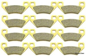 Front Rear Brake Pads for Arctic Cat 650 H1 Mudpro 4X4 2010-2011 Tbx 2007