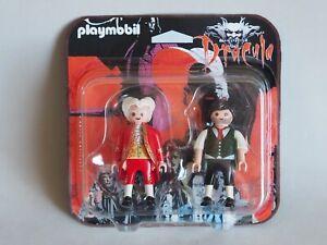PLAYMOBIL Dracula Bram Stocker Duo Pack CUSTOM Handmade, NUEVO / NEW