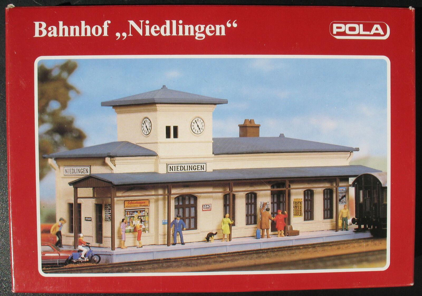Pola 551-estación  niedlingen  - pista h0-ferrocarril modelo Kit-model kit