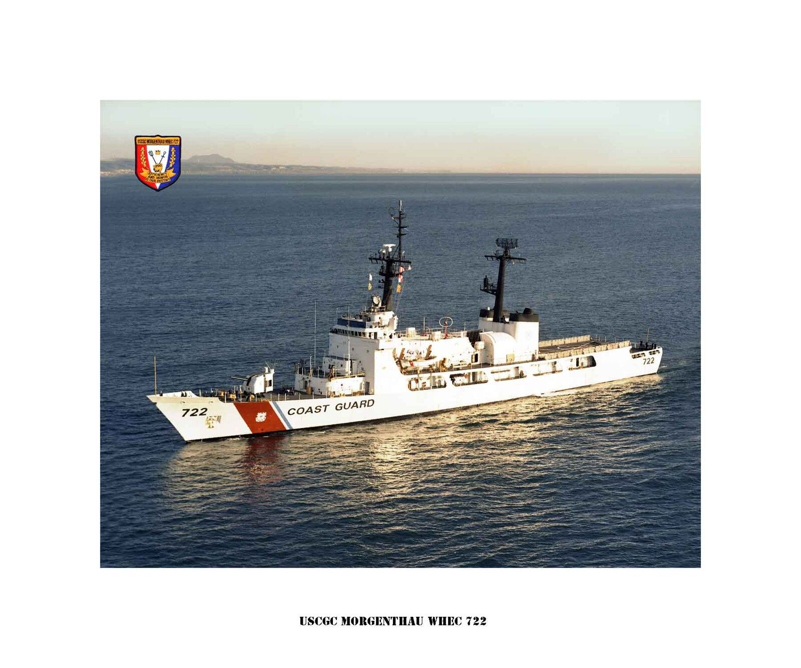 USCGC Morgenthau WHEC 722 USCG Ship