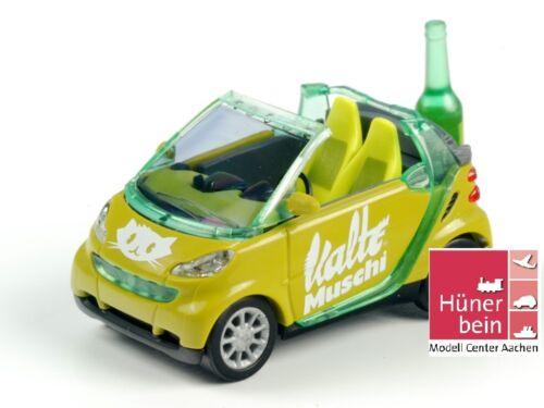 """botella verde limit 200 stk1:87 nuevo Busch 99052 Smart convertible /""""fría vagina/"""" embalaje original"""
