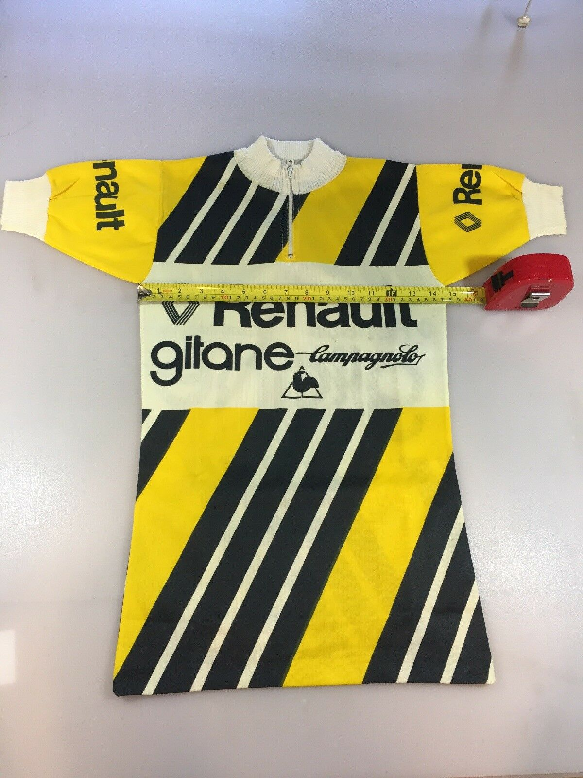 Renault Gitane Campagnolo Vintage Cycling Jersey Size 14 (6242)
