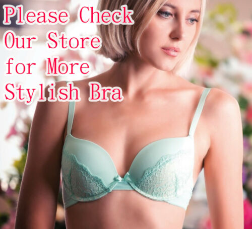 Lot of 6pcs Full Cup No Wire Plain Bras Wireless Soft Padded Lingerie A B C Cup