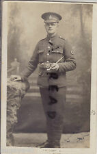 WW1 Pte Adolphus Lee Bristol Regents Park RAMC Royal Army Medical Corps