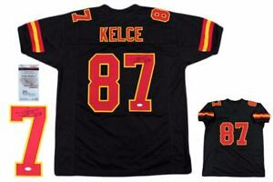 Image is loading Travis-Kelce-Autographed-SIGNED-Jersey-JSA-Witnessed- Authentic- eb109844a