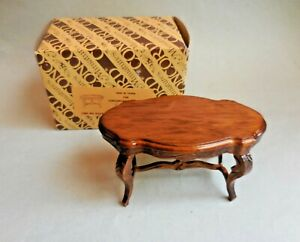 Image Is Loading Dollhouse Miniature Fancy Coffee Table Concord Retired
