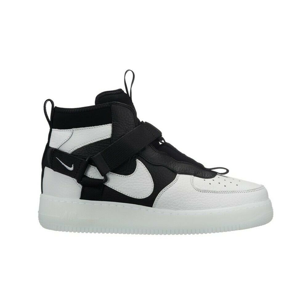 Nike Air Force 1 Utility (Off White Black-White) Men's shoes AQ9758-100