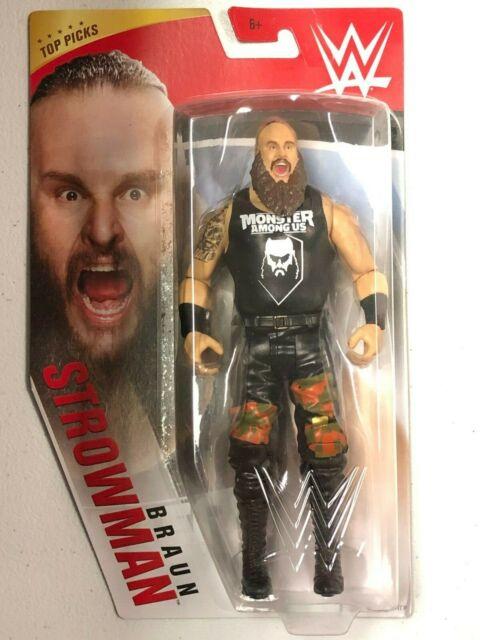 """WWE Elite /""""Top Talent 2019/"""" Mattel Toy Wrestling Action Figure Braun Strowman"""
