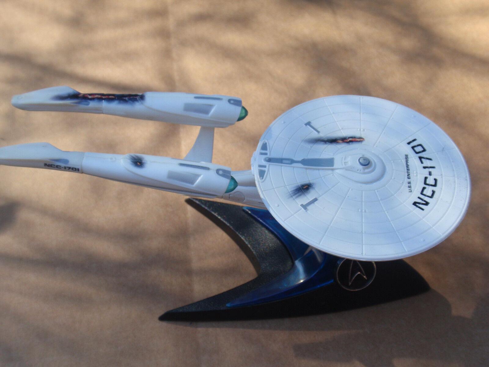 gran descuento Hot Wheels Estrella Trek U.S.S. Enterprise Enterprise Enterprise NCC-1701 Battle Damaged suelta de 6 pulgadas  autorización oficial
